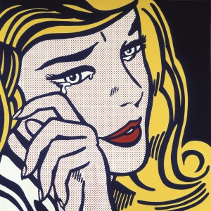 LICHTENSTEIN_Crying_girl